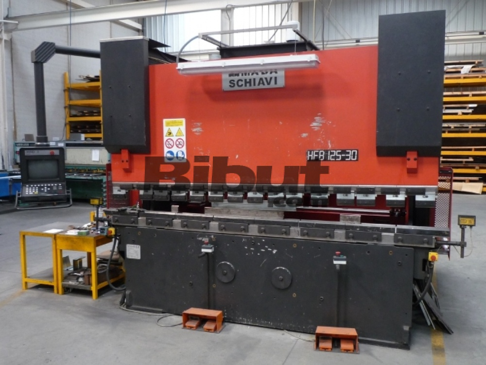 Press Brakes Amada Schiavi Hfb 125 30