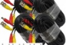 4 x 18M 60FT Video DC Power Security Surveillance BNC RCA Cable for CCTV Camera